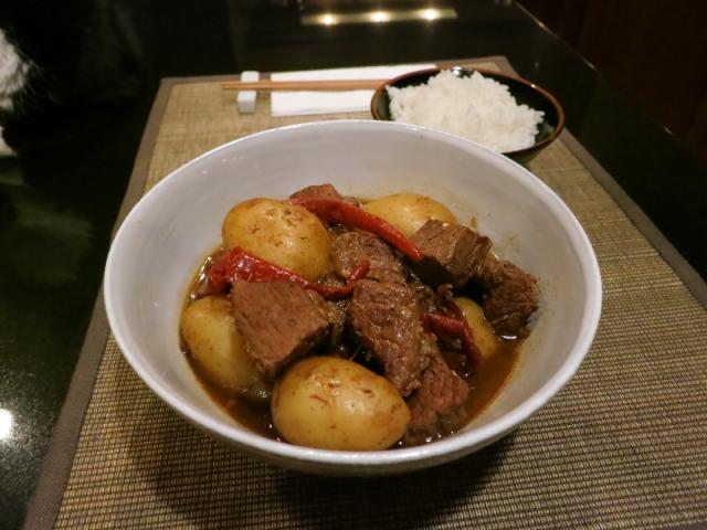 Beijing-style beef stew