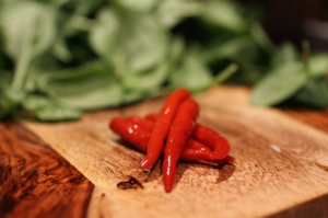 Pickled Thai chiles