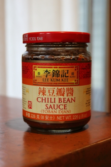 Spicy bean paste (辣豆瓣酱, là dòubàn jiàng)