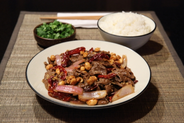 Simple chili beef