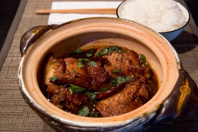 Spicy braised chicken