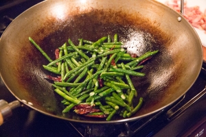 Beans and chiles