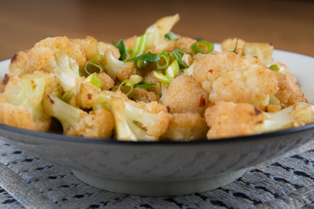 Cauliflower with Guilin chile sauce